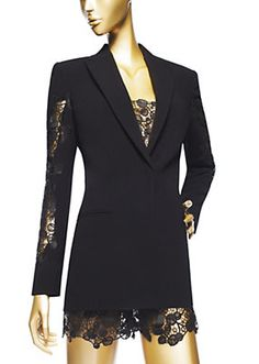 Versace - Veste en macramé