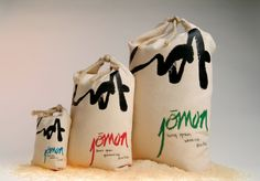 Jomon Rice Graphis love the beauty and simplicity of this rice #packaging PD