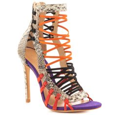 f86a456276 Add a pop of color to your look in the vibrant Ermmana. This SCHUTZ sandal