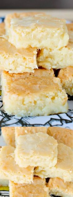 These Fudgy White Chocolate Brownies from Back for Seconds are just like your…