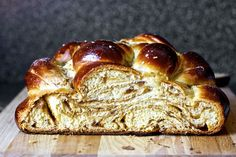 fig, olive oil and sea salt  easier braid--challah
