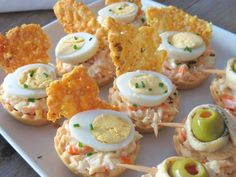 Canapes Faciles, Appetizer Recipes, Appetizers, Sweet Recipes, Healthy Recipes, Tasty, Yummy Food, Chicken Salad Recipes, Afternoon Tea