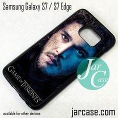 Game Of Thrones Jon Snow Phone Case for Samsung Galaxy S7 & S7 Edge