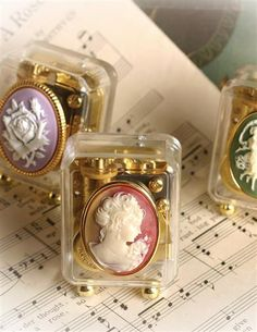 SET OF 3 ALL OCCASION CAMEO MUSIC BOXES | $49.95