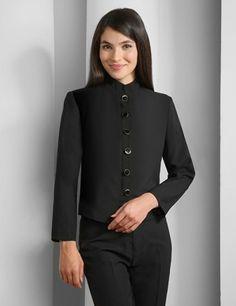 Receptionist uniforms uniforms pinterest receptionist for Uniform at spa castle