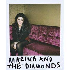 Marina and the Diamonds @ Lilith Fair - July 2010 - Americymru ❤ liked on Polyvore