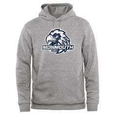 Monmouth Hawks Big & Tall Classic Primary Pullover Hoodie - Ash - $49.99