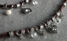 Beautiful Crystal necklace. Starting at $1 on Tophatter.com!