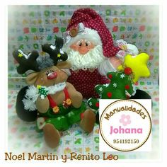 Reno, Teddy Bear, Christmas Ornaments, Holiday Decor, Home Decor, Blog, December, Fabric Dolls, Christmas Crafts