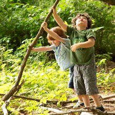 Nature Play Why Children Need Outside Time (and lots of it)