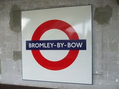 Bromley-By-Bow London Underground Station in Bromley-by-Bow, Greater London