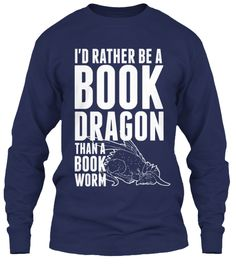 LIMITED: I'd rather be a book dragon!