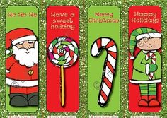 {FREE} Christmas Bookmarks to use as Gifts or Rewards