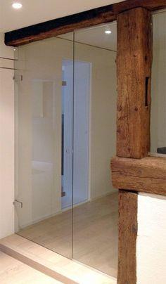 Beispiele von Glastüren und Glasabschlüssen - KGS