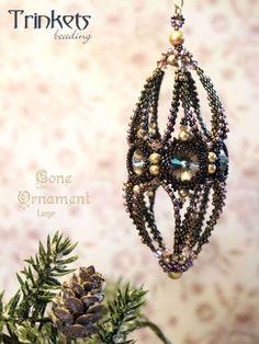 Beading pattern - Large Cone Ornament - Trinkets beading