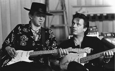 Stevie Ray and Jimmy Vaughan