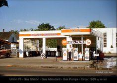 Gas station...
