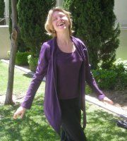 25% Off! Maggie's Certified Fair-Trade 100% Organic Cotton Wrap Top. Fun and flattering!