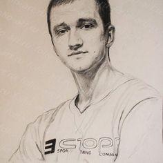 Портрет Никиты. Графика. Карандаш /бумага