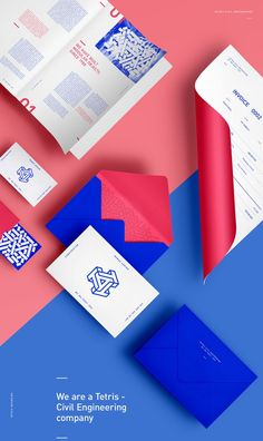 Branding | Graphic Design | Branding of Tetris company.