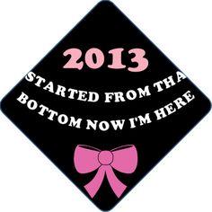 #graduation cap decoration by www.tasseltoppers.com