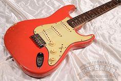 Fender 1960 Stratocaster / Fiesta Red [TC楽器フェンダーフロア](中古・ヴィンテージ)ITM0980551【Jギター楽器詳細 Fender】