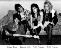 Bangles, before they were famous -- which is when I saw them at Northwestern