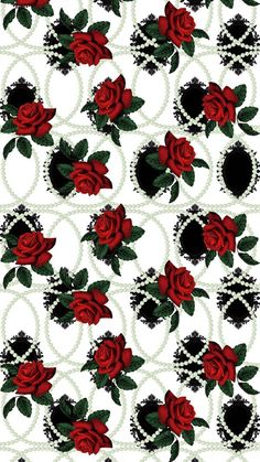 Rose Wallpaper Patterns Butterfly Flowers Iphone Wallpapers Decoupage Nails