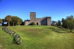 #Castello dei Landi - Resi in the countryside of #Todi #Umbria #castles