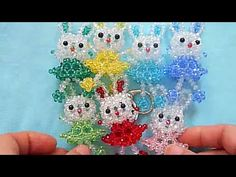 How to bead animal acceceroy:Teddy Bear - YouTube