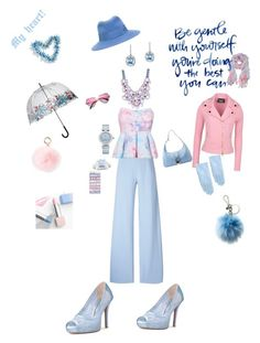 """""""Heart Blue"""" by harts2raines ❤ liked on Polyvore featuring Christopher Kane, Boutique Moschino, Casetify, RAJ, Fulton, Maison Michel, OMEGA, BillyTheTree, Michael Kors and Boohoo"""