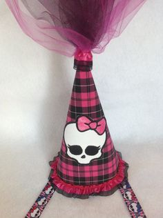 Monster High Princess Birthday Party Hat Free by TopoftheTown, $20.99