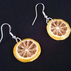 Real Yellow Lime Earrings -  handmade real fruit earrings, summer gift, girls gifts, quirky and unusual earrings, delivered in a gift box by IGUECO on Etsy https://www.etsy.com/uk/listing/234920441/real-yellow-lime-earrings-handmade-real