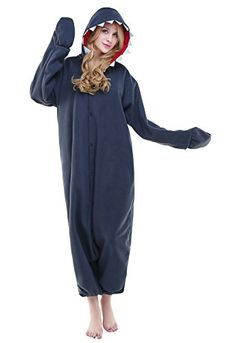 167eb26acad7 Newcosplay Unisex Adult Pyjamas Shark Halloween Onesie costume - L   Read  more details by clicking on the image. Tanya Silverstone · Men Cosplay  Costume