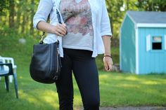 lifestyle: OOTD WITH VICTORIAS SECRET KNOCKOUT PANTS AND NIKE...