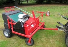 Leaf sweeper for lawns and paved areas. The leaf sweeper protects the lawn from damage promoting grass growth. Tow, PTO, push lawn sweepers for sale. Leaf Sweeper, Garden Tractor Attachments, Horse Manure, Compact Tractors, Lawn Maintenance, Healthy Environment, Wheelbarrow, Lawn Care, Car Parking