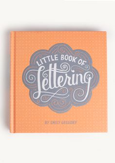 Little Book Of Lettering Typography Book at #Ruche @Ruche
