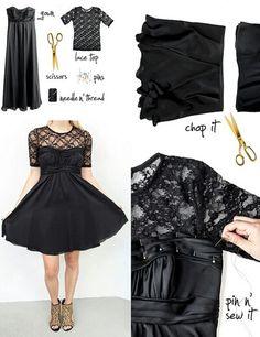 adding shirt to a strapless dress.