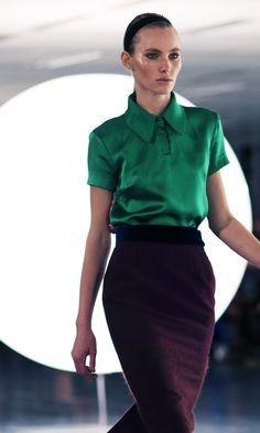 This little green blouse is fantastic.