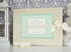 Hochzeitsgästebuch - ♥ Gästebuch ♥ Hochzeit, Geburtstag oder Taufe ♥ - ein Designerstück von Bloomgart bei DaWanda