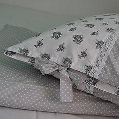Maxi / Posteľná bielizeň Bed Pillows, Pillow Cases, Handmade, Pillows, Hand Made, Handarbeit