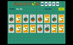 Fraction Match Education Mac App ***** $1.99 -> FREE # 4+...: Fraction Match Education Mac App ***** $1.99 -> FREE # 4+… #mac #Education