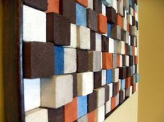 Choose your colors and then make friendly with the wood cutter at Home Depot