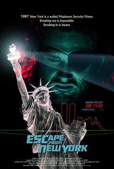 ESCAPE FROM NEW YORK (John Carpenter, 1981)