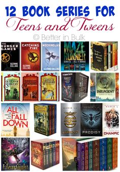 Summer Reading Book Series for Teens and Tweens is part of Teen book series - Summer is the perfect time for catching up on reading! Check out this list of 12 amazing book series for teens and tweens Summer Reading Program! Ya Books, Book Club Books, Book Lists, Good Books, Teen Books, Reading Lists, Story Books, Literature Books, Reading Nooks