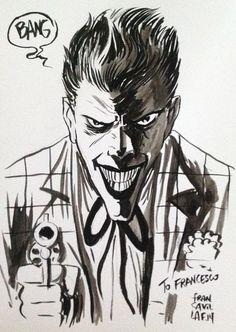 Joker by Francesco Francavilla