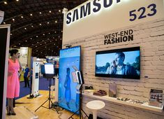 Virtual Style Sense Virtual Dressing Room technology launch at RBTE with Samsung UK and Ted Baker.