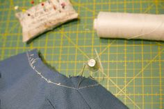 lógicamente Sewing Shirts, Sewing Techniques, Cufflinks, Sleeves, Clothes, Accessories, Irene, Tela, Vestidos