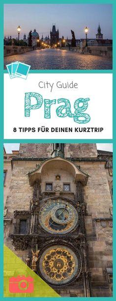 """Prag wird im Sommer regelrecht von Touristen überrannt. Dennoch lohnt sich zu dieser Jahreszeit ein Besuch der """"Goldenen Stadt"""". Hier gibt es 8 wichtige Tipps für deinen Städtetrip. #Städtetrip #Kurztrip #Prag #PragimSommer"""