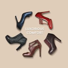 Roccamore shoes - heels designed for comfort